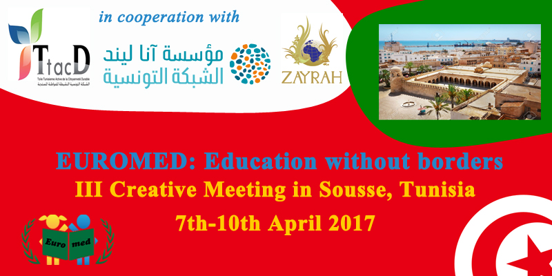 Euromed: Education without borders is on the way to the III creative meeting in April 2017